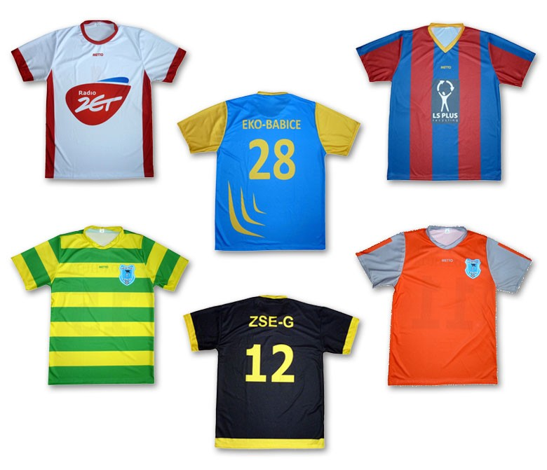 odzież piłkarska na zamówienie