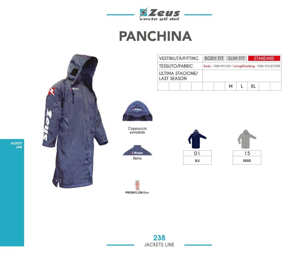 zeus-panchina